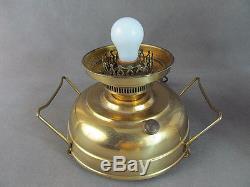 1986 FENTON Mariners Lamp BURMESE withSealife #7400Limited Edition NR