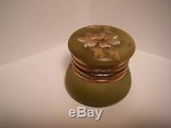 Ant. Monroe Nakara Kelva Wavecrest Dresser Ring Trinket Jar