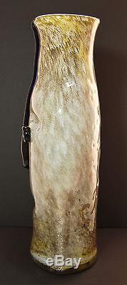 Art Glass Blenko face Vase #9316 AGB#1