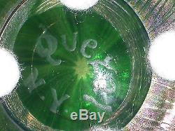 Art Glass Rare Quezal Signed NY 6 vase