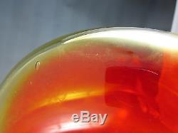 BLENKO Wayne Husted 6027 Amberina Decanter with Shot Glass Stopper