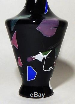 Beautiful 9 1/4 Mount Washington Lava Glass Vase Circa 1878-1880 No Reserve