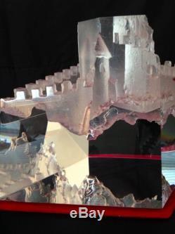 Beautiful Steuben Castle of Dreams NO RESERVE AUCTION