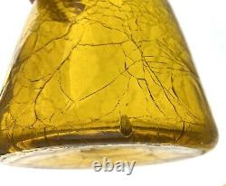 Blenko 920L Decanter in Gold Early Winslow Anderson Example