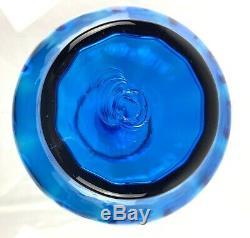 Blenko Glass 6935 Decanter In Turquoise Joel Myers Design