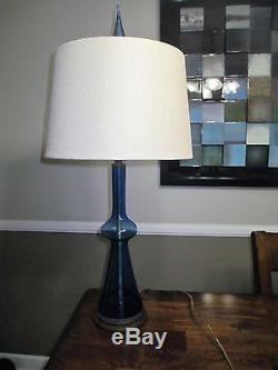 Blenko Lamp from the Estate of Winslow Anderson 1940's