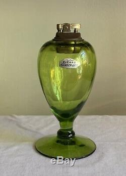 Blenko Olive Green 6943 Lighter