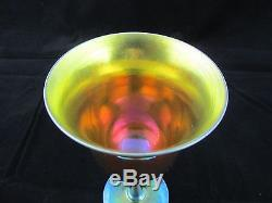 C1903 STEUBEN Gold Aurene Wine GOBLET#2361 SIGNED No Reserve