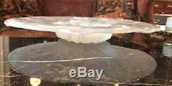 Consolidated Glass Dancing Nudes Platter 17 1/2 Art Deco Extremely Rare