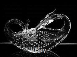 EXQUISITE STEUBEN ART GLASS DRAGON FIGURINE #8429 BERNARD X. WOLFF