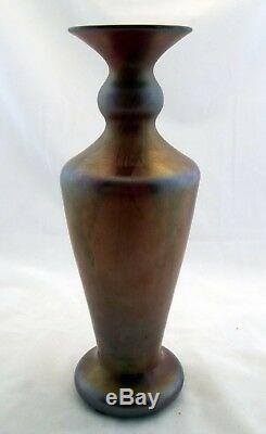 FENTON Rare Karnak Red Hanging Vine Vase Large 11 Antique Circa 1920s