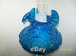 Fenton Blue Student Lamp