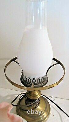 Fenton Burmese Berry & Flower Lamp