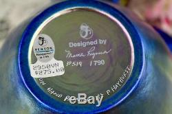 Fenton Favrene 3 pc. Ginger Jar 1995 Connoisseur Collection M. Reynolds #519/790
