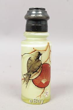 Group of 8 Antique 19c Mt Washington Art Glass Salt Pepper Shakers incl Vaseline