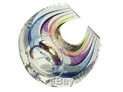KIT KARBLER MICHAEL DAVID 20th c. American BLAKE STREET ART GLASS SCULPTURE