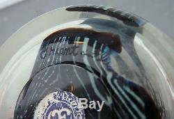 Large Orient & Flume Iridescent Hawthorne Millefiori Artglass Vase Signed/Label