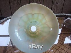 Large Signed Steuben Art Glass Shade