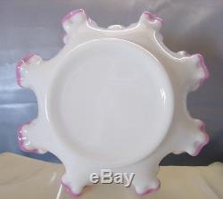 MINT&PERFCTVINTAGEFENTONSRCAPPLE BLOSSOM(lav/pink opaline)CREST8LOWBASKET