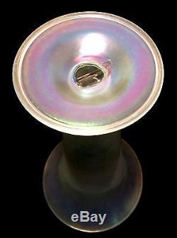 Monumental Steuben Verre de Soie Vase Shape 2909 American Art Glass NO RESERVE