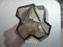 Phoenix Consolidated Glass Smoky Topaz 6.75 Vase