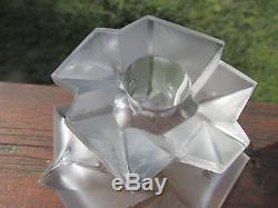 Phoenix Consolidated RUBA ROMBIC Candle Holder in French Crystal