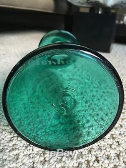 Rare 1958 Blenko Wayne Husted Spouted Glass Decanter #5823 Aqua