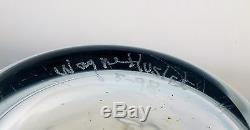 RARE Signed Wayne Husted OLANA EXPERIMENTAL Huge Vase BLENKO Art Glass