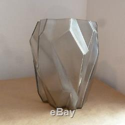 Ruba Rombic Vase, Quite Large, Pristine Condition, By Reuben Haley, 1928