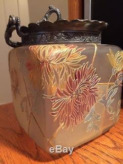 Royal Flemish Biscuit Jar, Mt. Washington