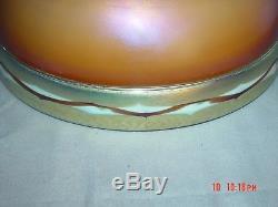 Steuben Art Glass Intarsia Shade