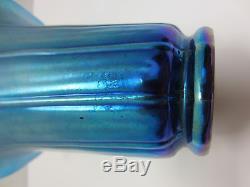 Steuben Blue Aurene Shade Vase #913