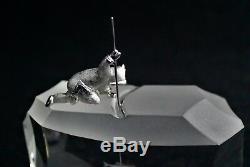 Steuben Glass Sculpture Arctic Fisherman James Houston