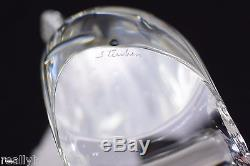 Steuben Glass Trout Signed