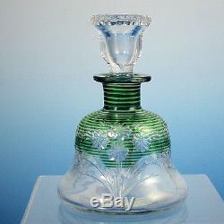 Steuben Perfume Bottle Carder Era