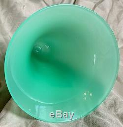 Steuben Shape 2909 Green Jade Vase