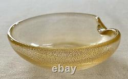 Tiffany & Co Elsa Peretti Gold Flake Art Glass