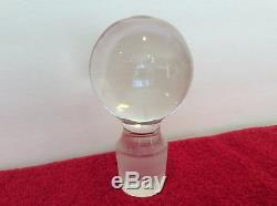 Tiffany & Co Signed Crystal Spirits Liquor Decanter with Glass Stopper Vintage