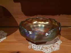 Tiffany Favrile Art Glass Bowl