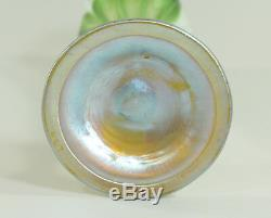Tiffany Studios Favrile Glass Floriform Vase from the Estate of Debbie Reynolds