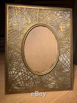Tiffany Studios NY Pine Needle Bronze Picture Frame