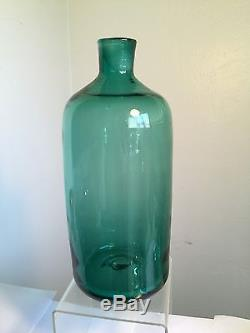 Vintage Blenko Decanter 5913 One Year Only Wayne Husted