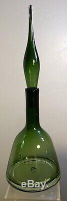 Vintage Blenko Glass Decanter Catalog 6122