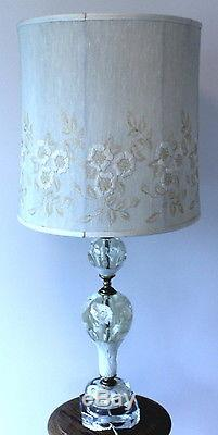 Vintage Mid Century St  Clair Blown Glass Paperweight Lamp