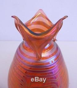 Vintage Tiffany Favrile Blown Glass Vase Loetz