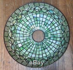 Vintage Tiffany Studios 16 Acorn Shade & Base