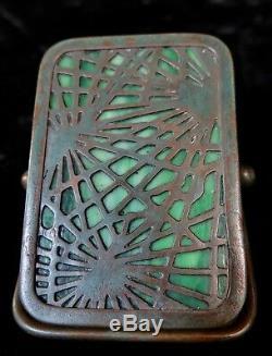 Vintage Tiffany Studios Desk Pine Needle Pattern Paper Clip