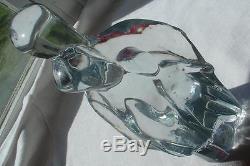 Vtg Don Shepherd Crystal Blenko Art Glass Family